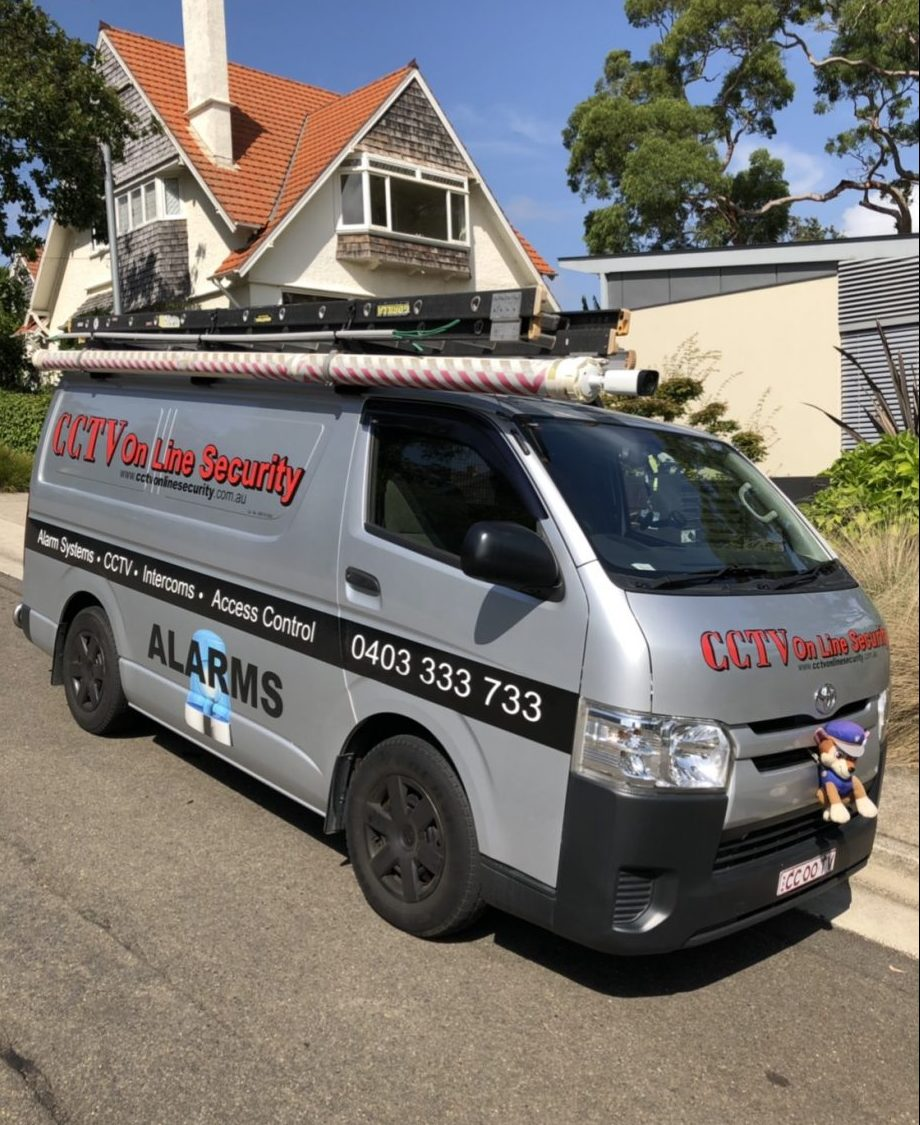 CCTV Online Security Van